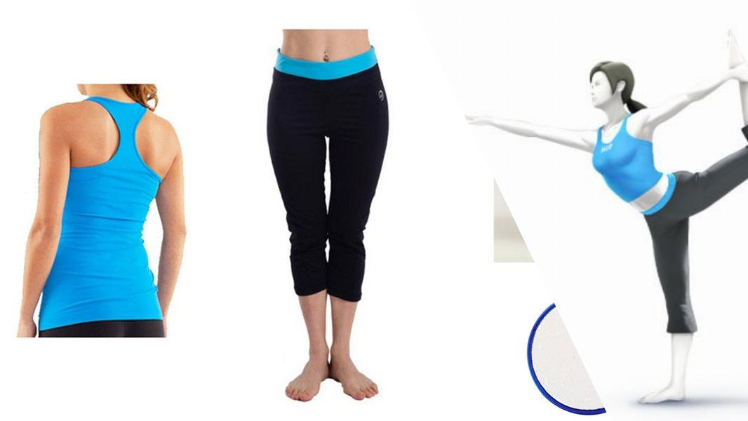 Wii Fit Trainer Cosplay Tutorial