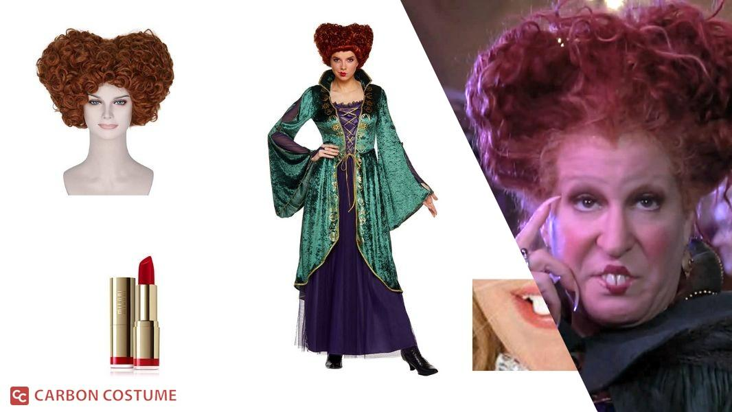 Winifred Sanderson from Hocus Pocus Cosplay Tutorial