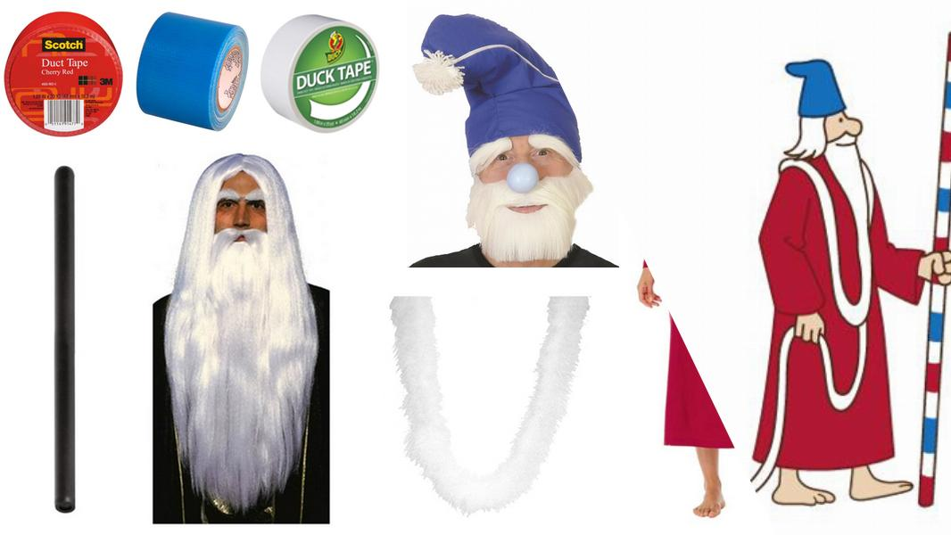 Wizard Whitebeard Cosplay Tutorial