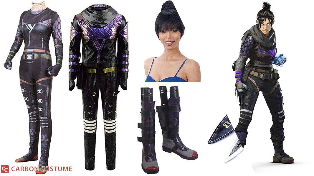 Wraith from Apex Legends Cosplay Tutorial
