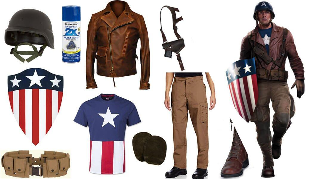 WWII Captain America Cosplay Tutorial