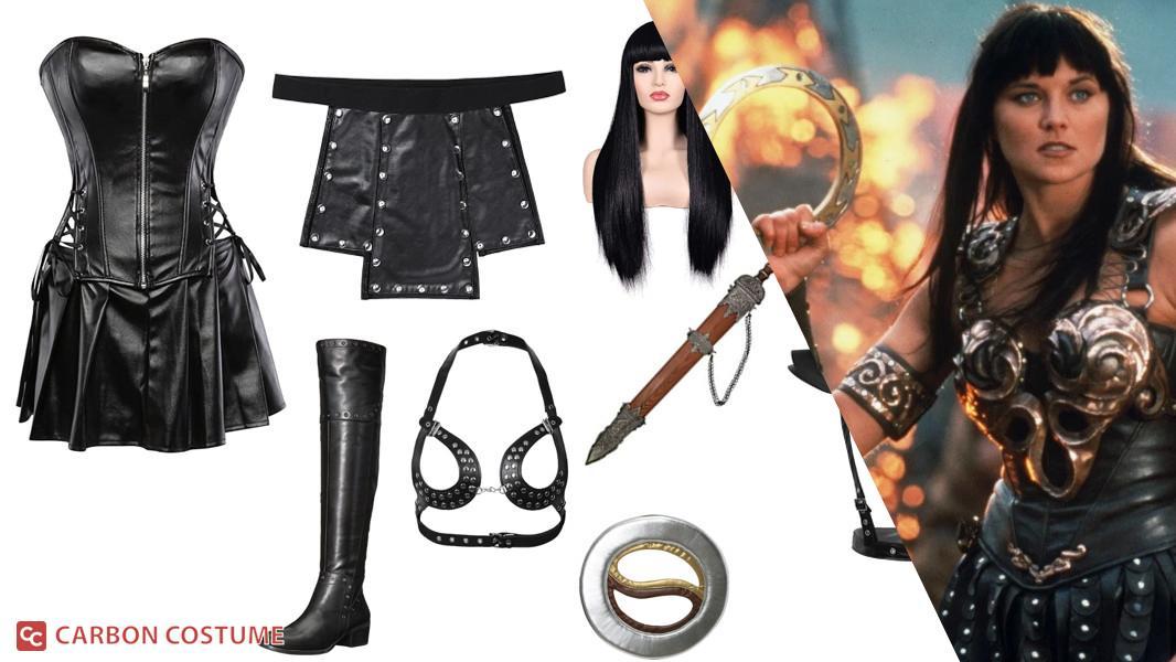 Xena from Xena: Warrior Princess Cosplay Tutorial