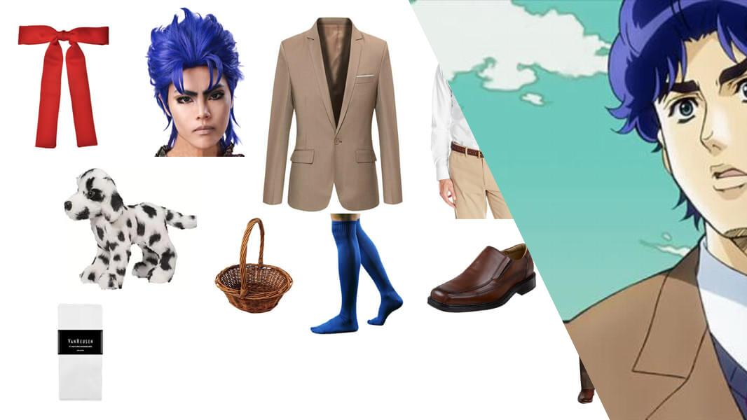 Young Jonathan Joestar Cosplay Tutorial