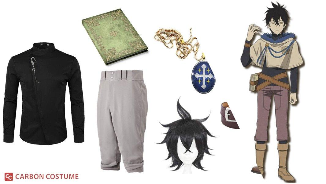 Yuno from Black Clover Cosplay Tutorial