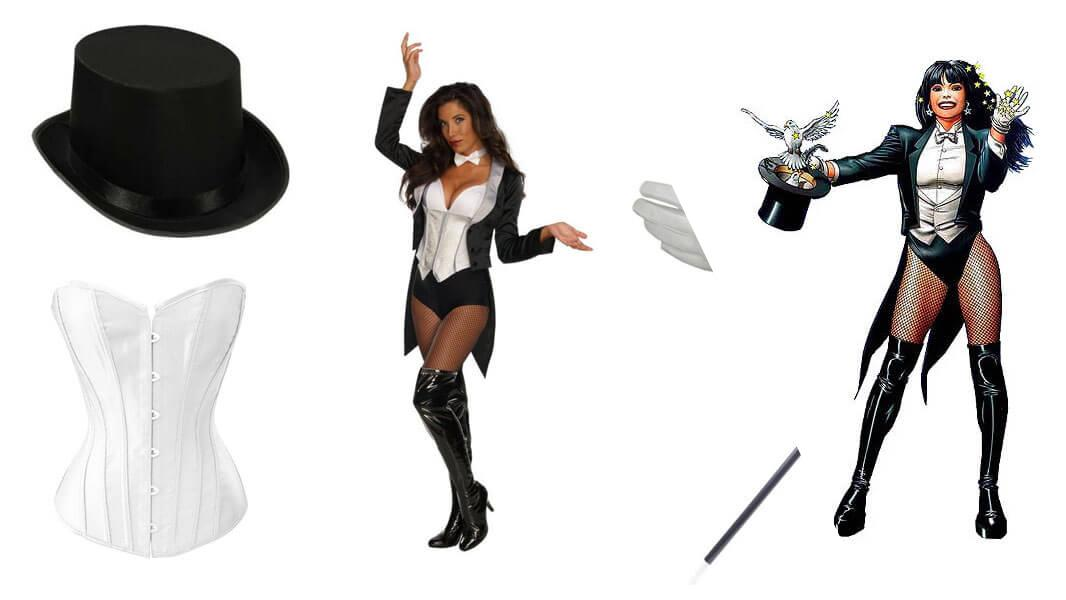Zatanna Cosplay Tutorial