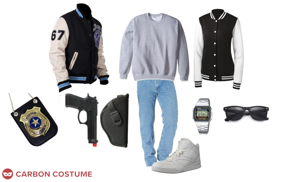 Axel Foley from Beverly Hills Cop Costume