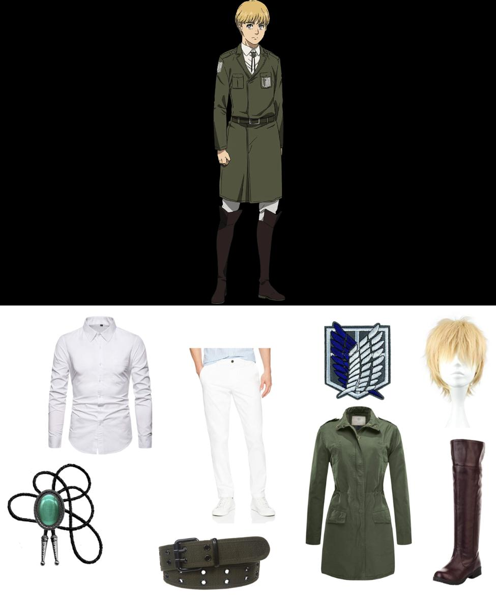 Armin Arlert from Attack on Titan Cosplay Guide