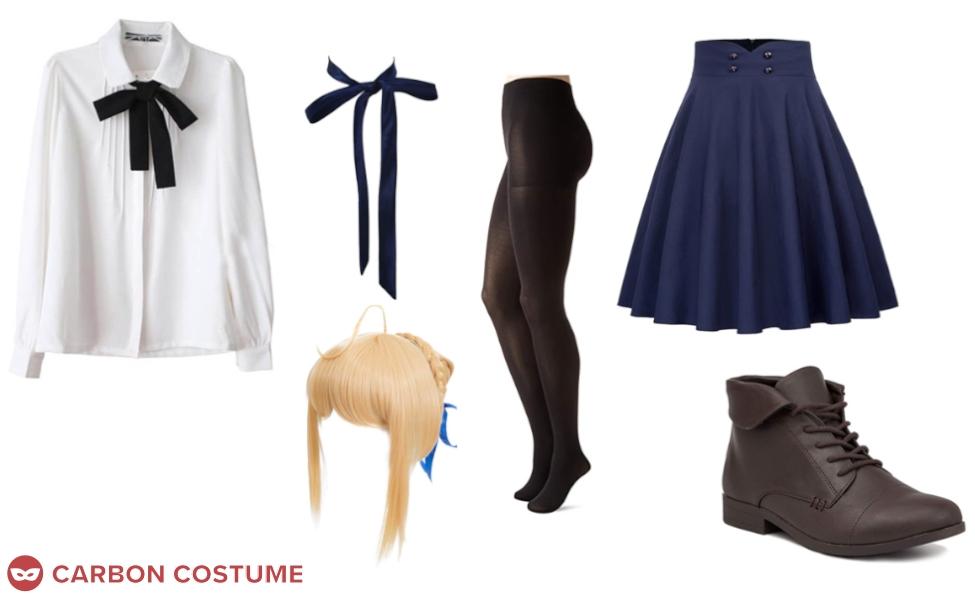 Artoria Pendragon from Fate/Zero Costume