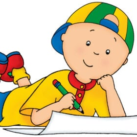 caillou from caillou