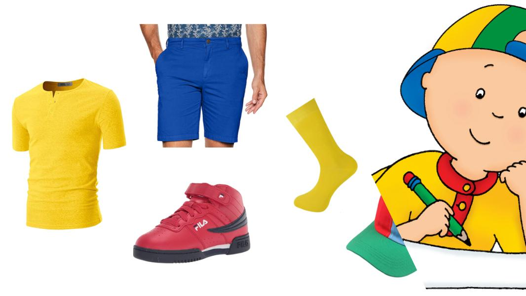 Caillou Cosplay Tutorial