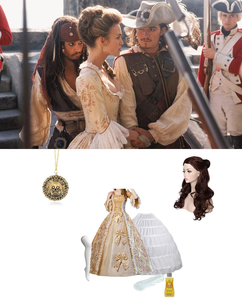 Elizabeth Swann from Pirates of the Caribbean Cosplay Guide