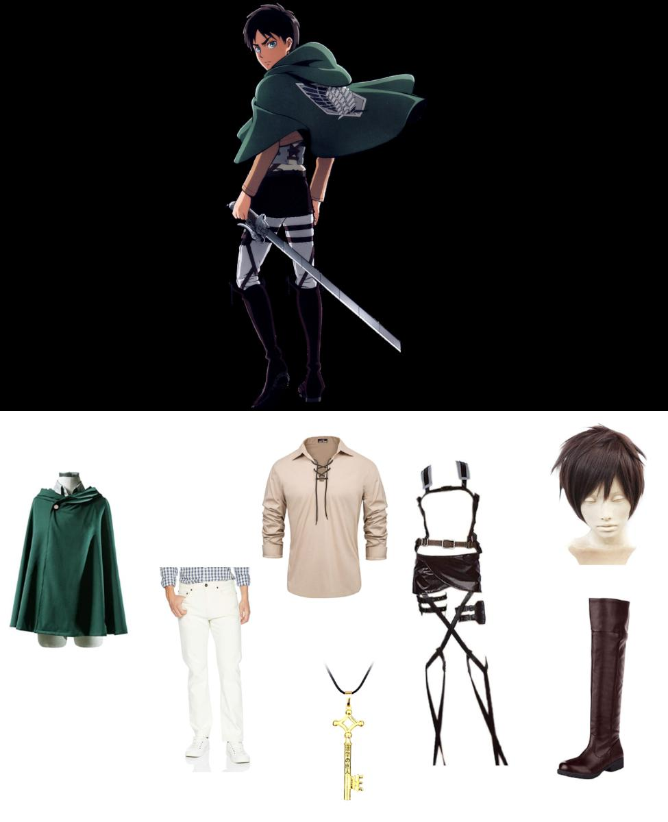 Eren Yeager from Attack on Titan Cosplay Guide