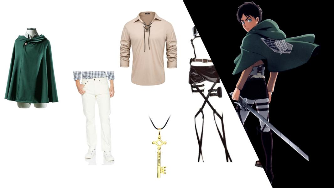 Eren Yeager from Attack on Titan Cosplay Tutorial