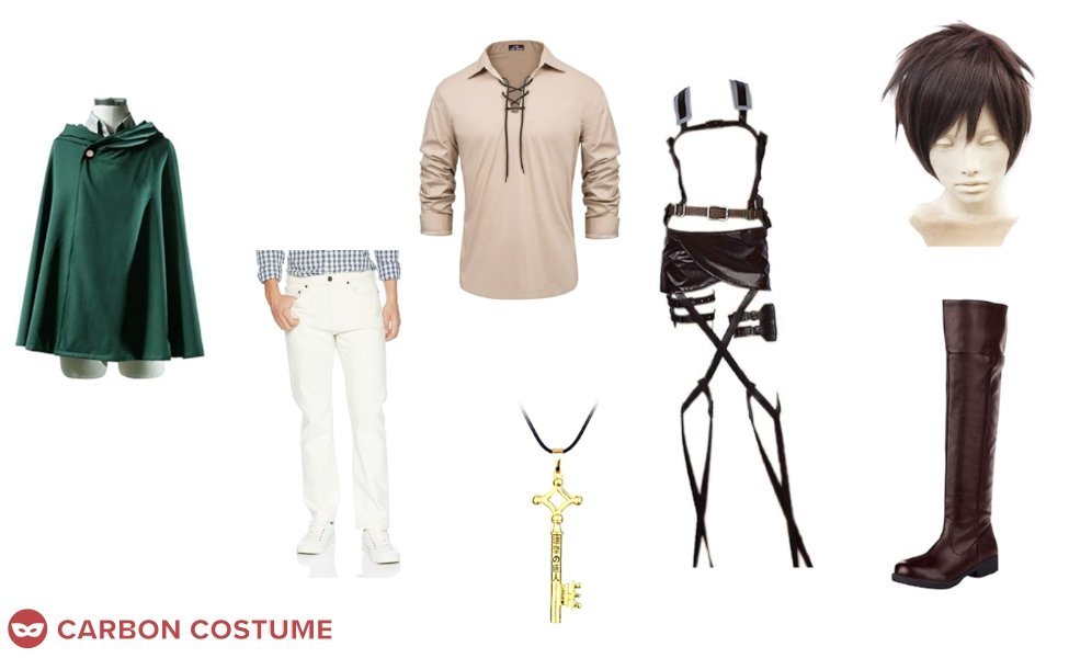Eren Yeager from Attack on Titan Costume