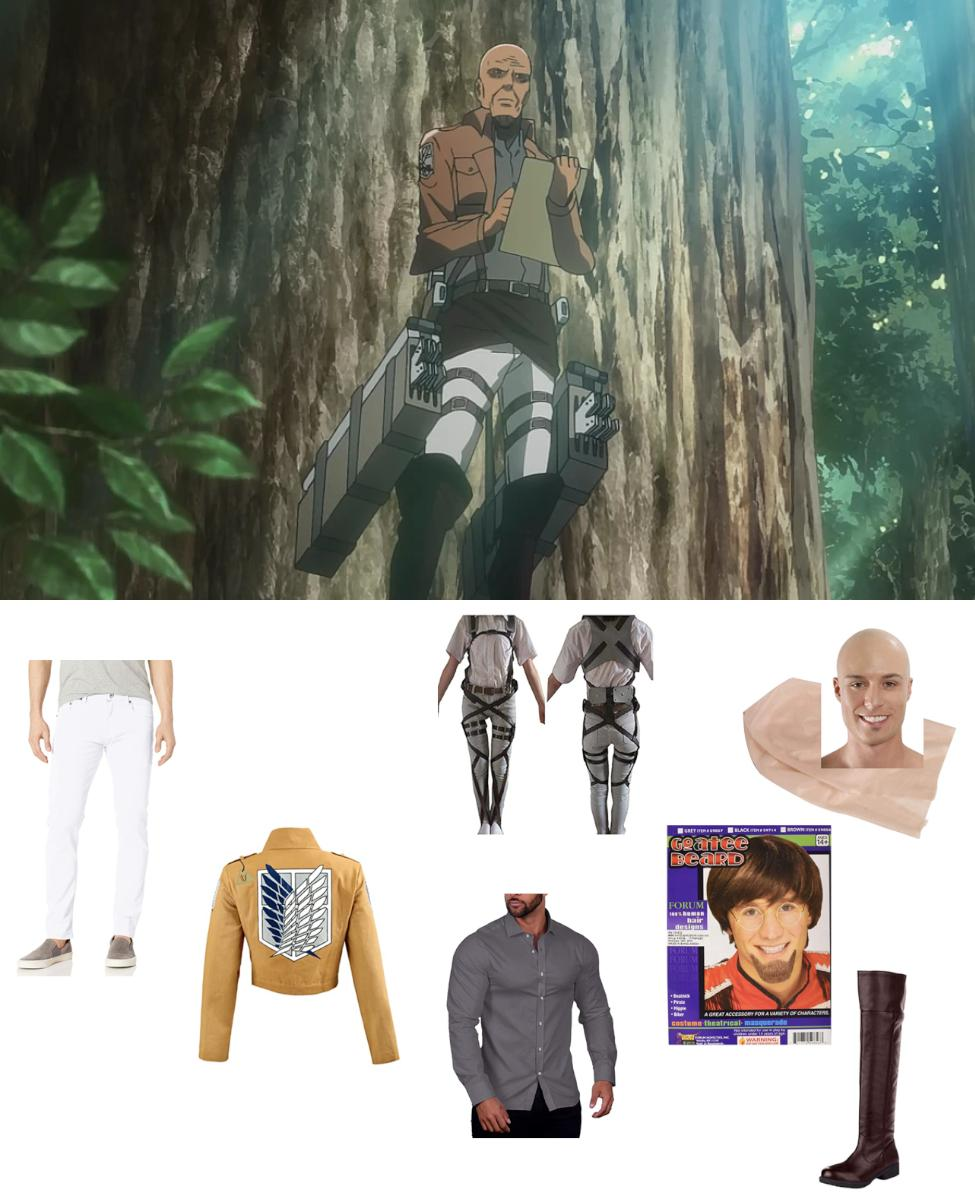 Keith Shadis from Attack on Titan Cosplay Guide