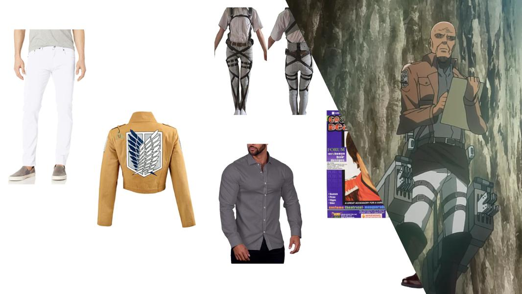 Keith Shadis from Attack on Titan Cosplay Tutorial