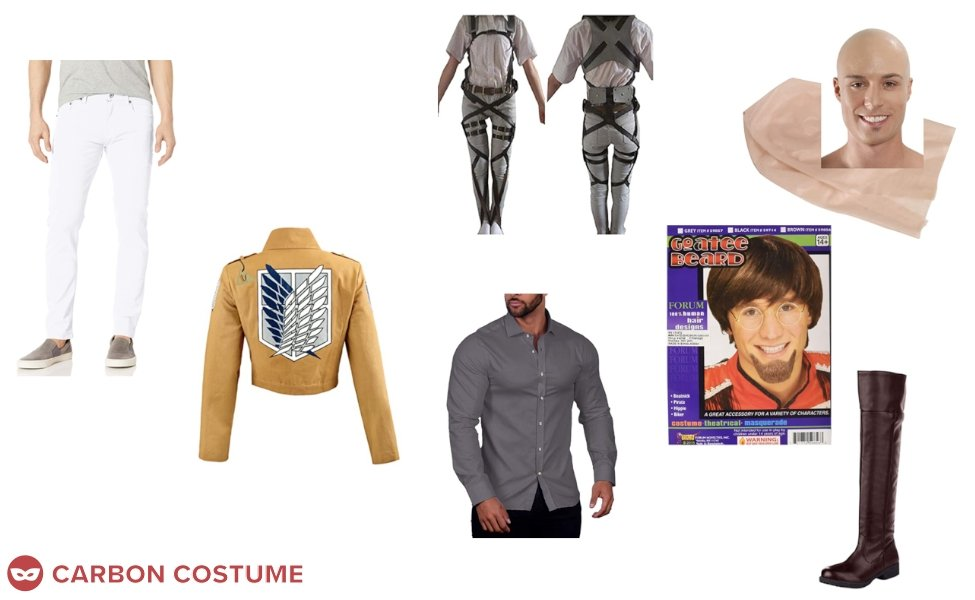 Keith Shadis from Attack on Titan Costume