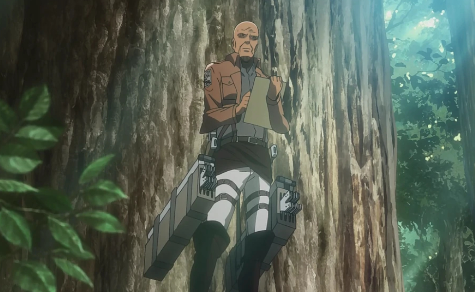 Keith Shadis from Attack on Titan