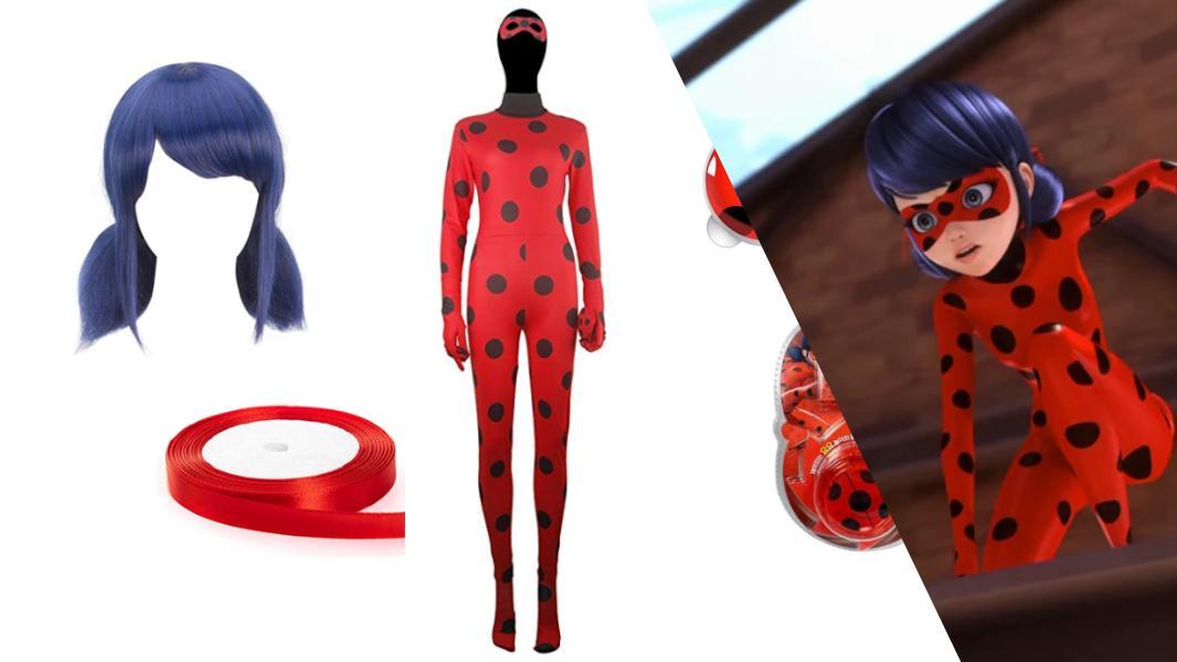 Ladybug from Miraculous Ladybug Cosplay Tutorial