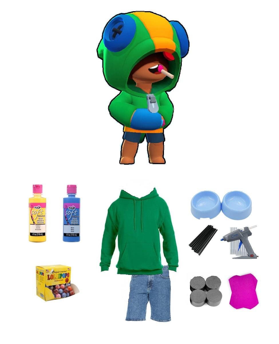 Leon from Brawl Stars Cosplay Guide