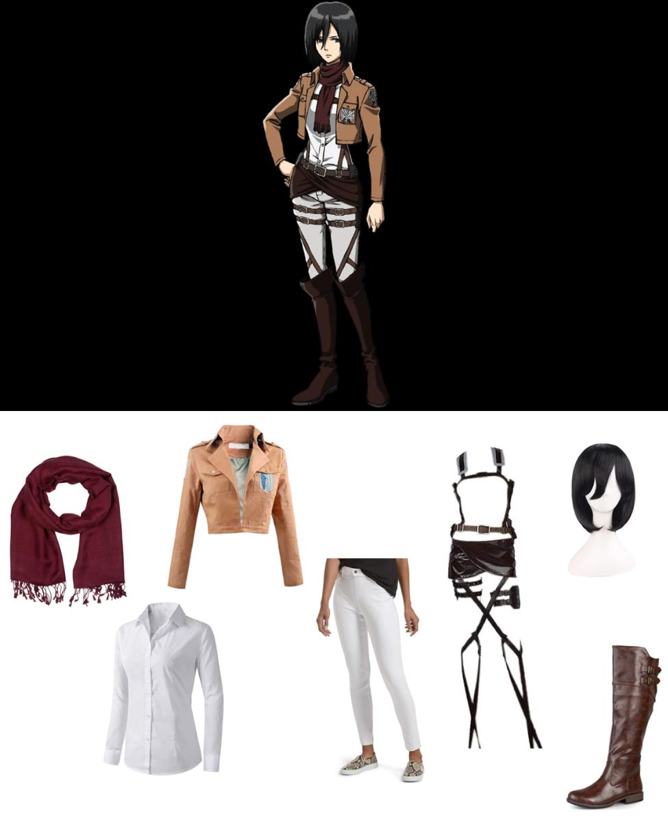 Mikasa Ackerman from Attack on Titan Cosplay Guide
