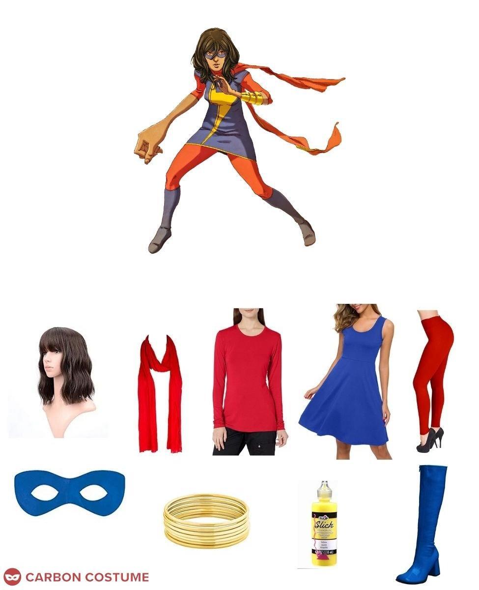 Ms. Marvel (Kamala Khan) Cosplay Guide