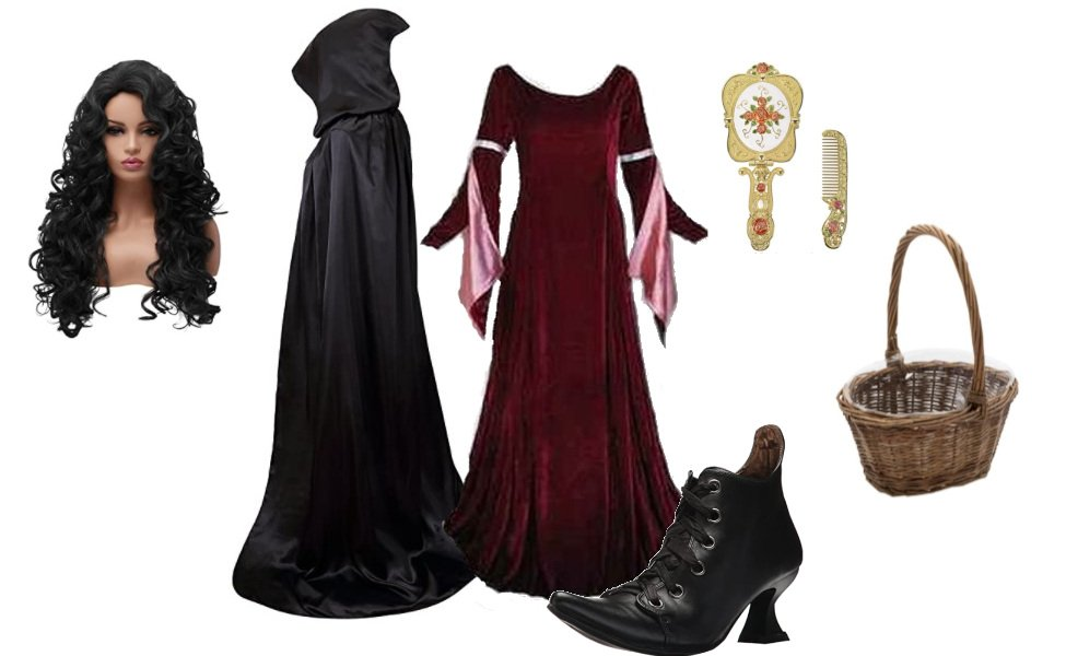 Mother Gothel from Tangled Costume