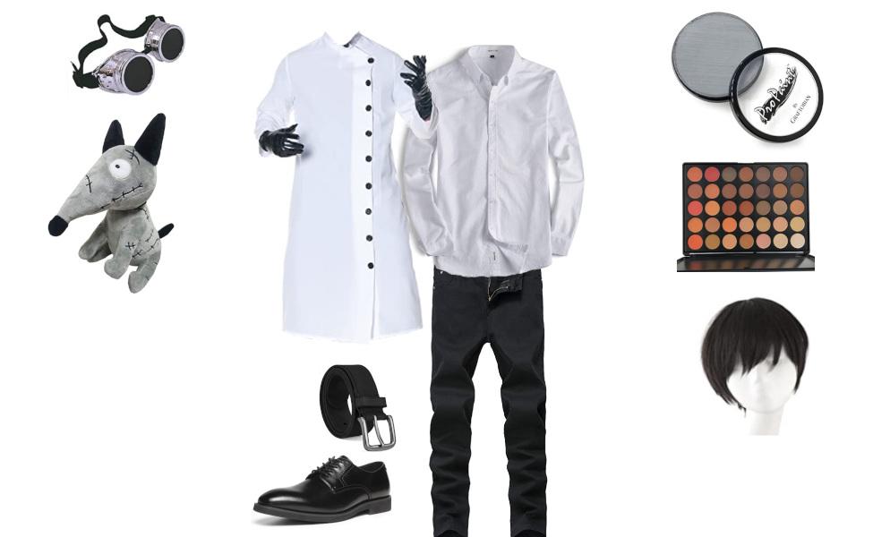 Victor Frankenstein from Frankenweenie Costume
