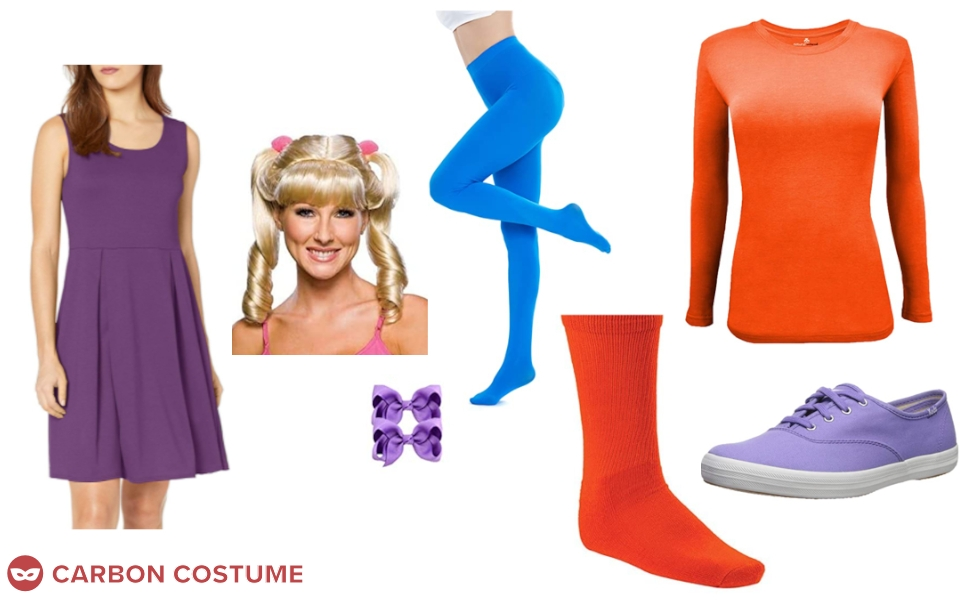 Angelica Pickles from Rugrats Costume