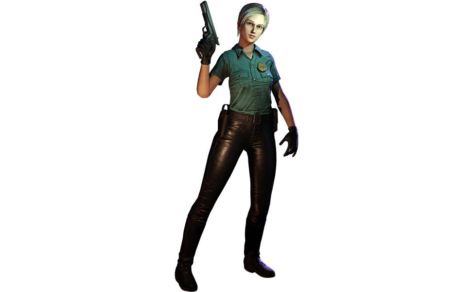 Cybil Bennett from Silent Hill