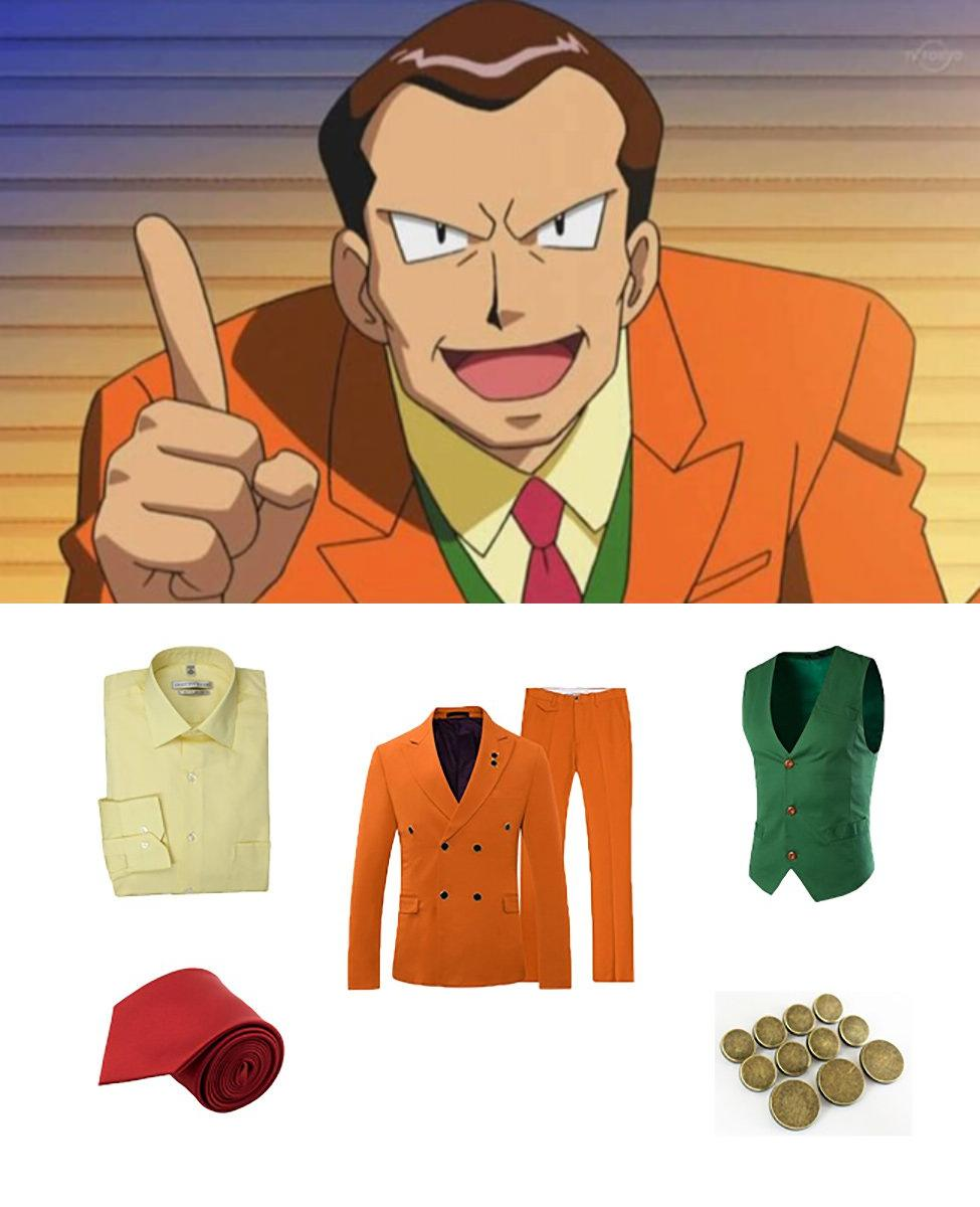 Giovanni from Pokémon Cosplay Guide