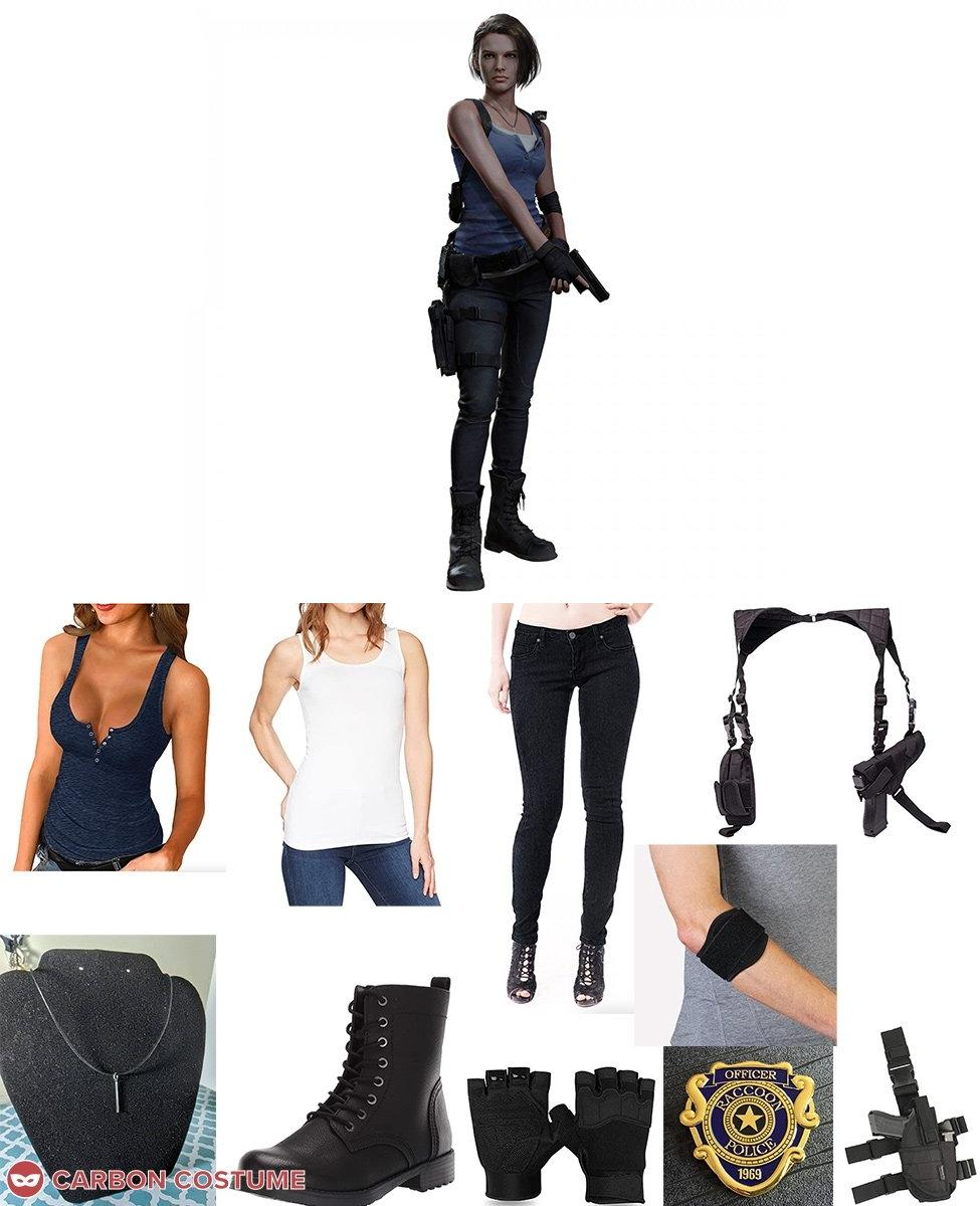 Jill Valentine from Resident Evil 3 Remake Cosplay Guide