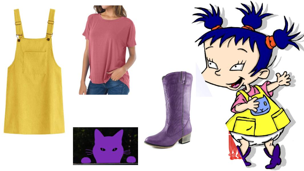 Kimi Watanabe-Finster from Rugrats Cosplay Tutorial