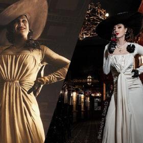 Lisina and Alcina: Olympian Ekaterina Lisina Brings Resident Evil 8's Lady Dimitrescu to Life