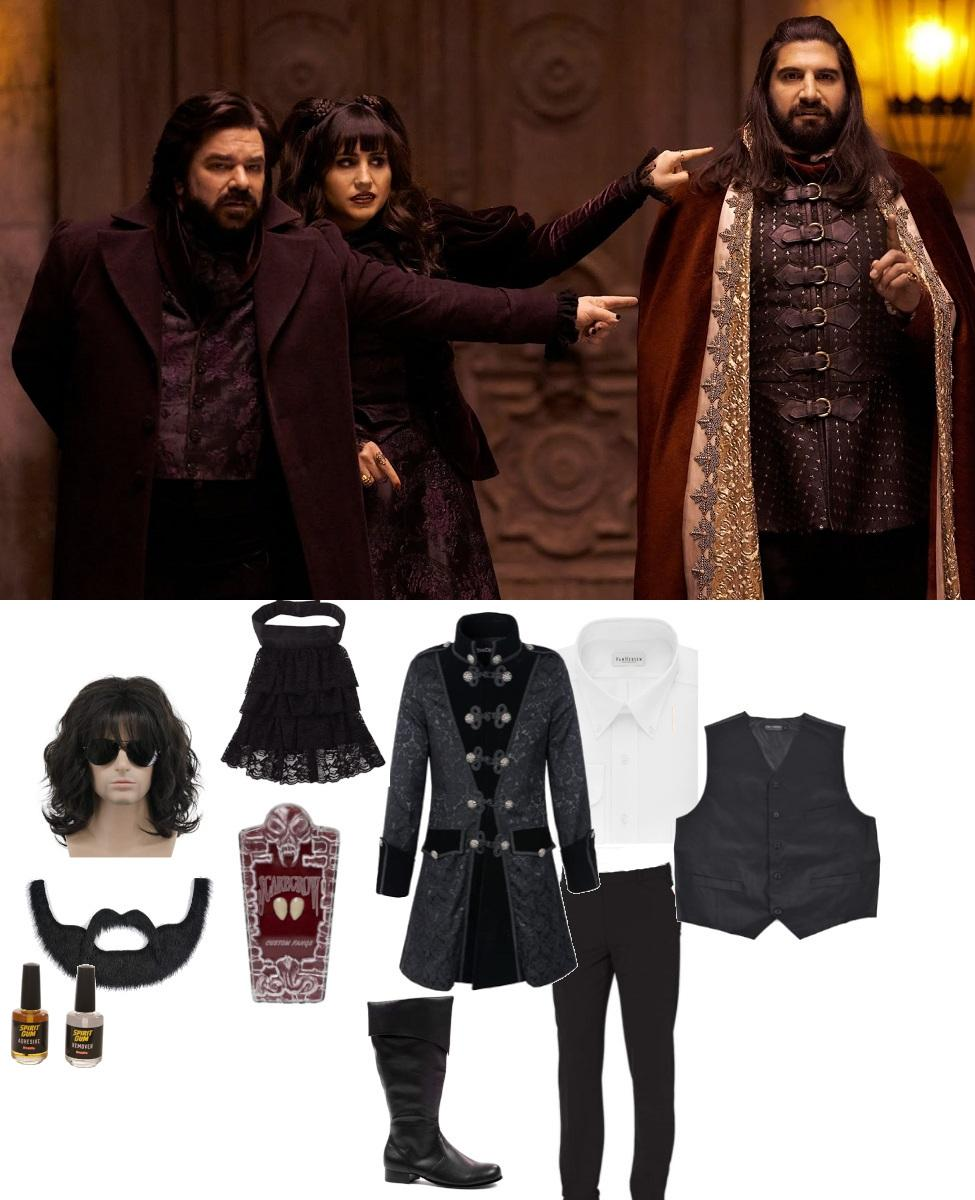 Laszlo Cravensworth from What We Do in the Shadows Cosplay Guide