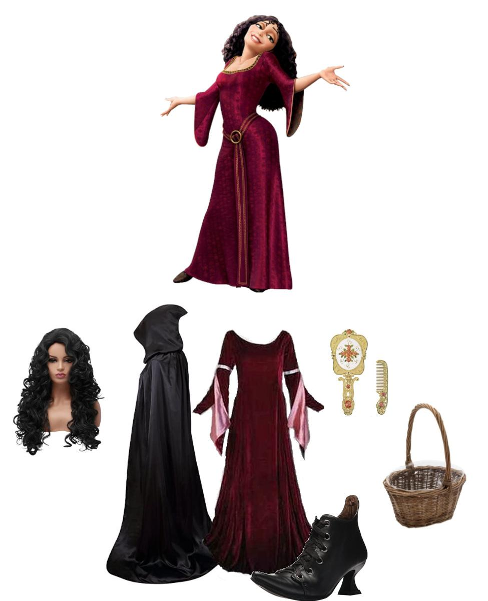 Mother Gothel from Tangled Cosplay Guide