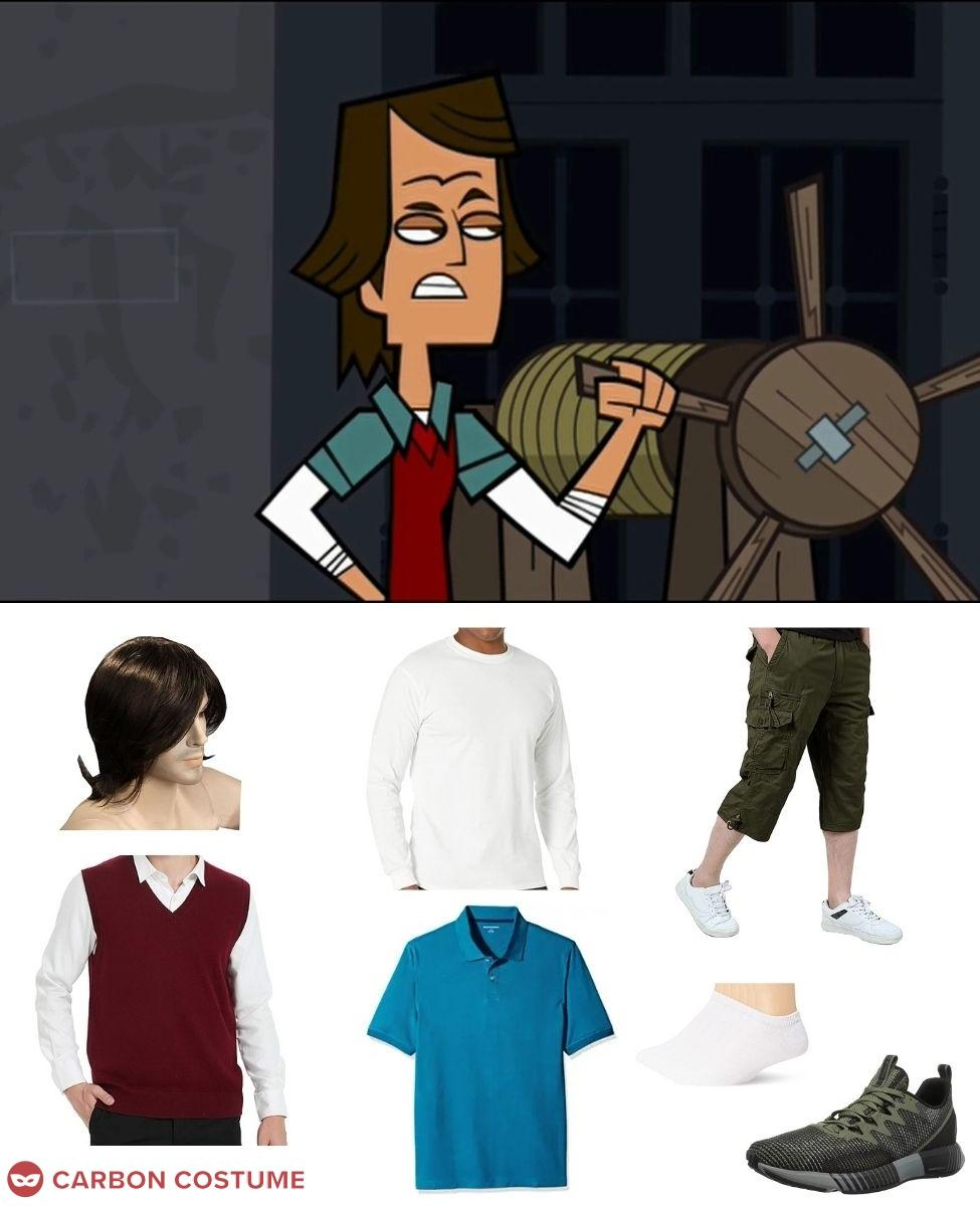 Noah from Total Drama Island Cosplay Guide