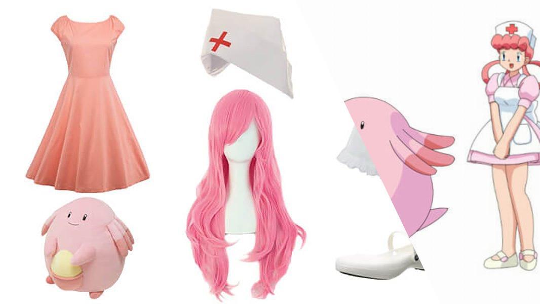 Nurse Joy from Pokémon Cosplay Tutorial
