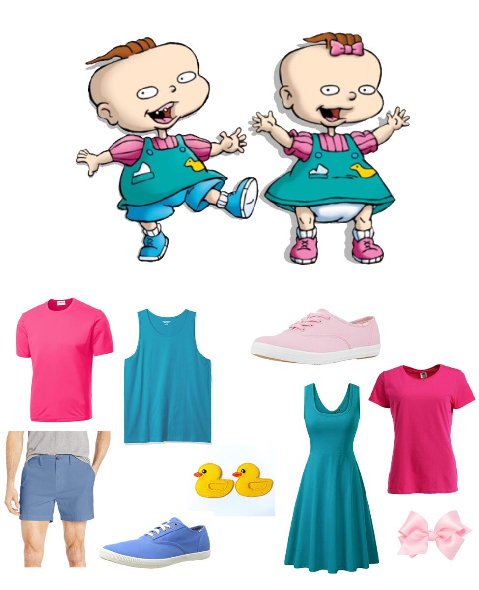 Phil and Lil DeVille from Rugrats Cosplay Guide