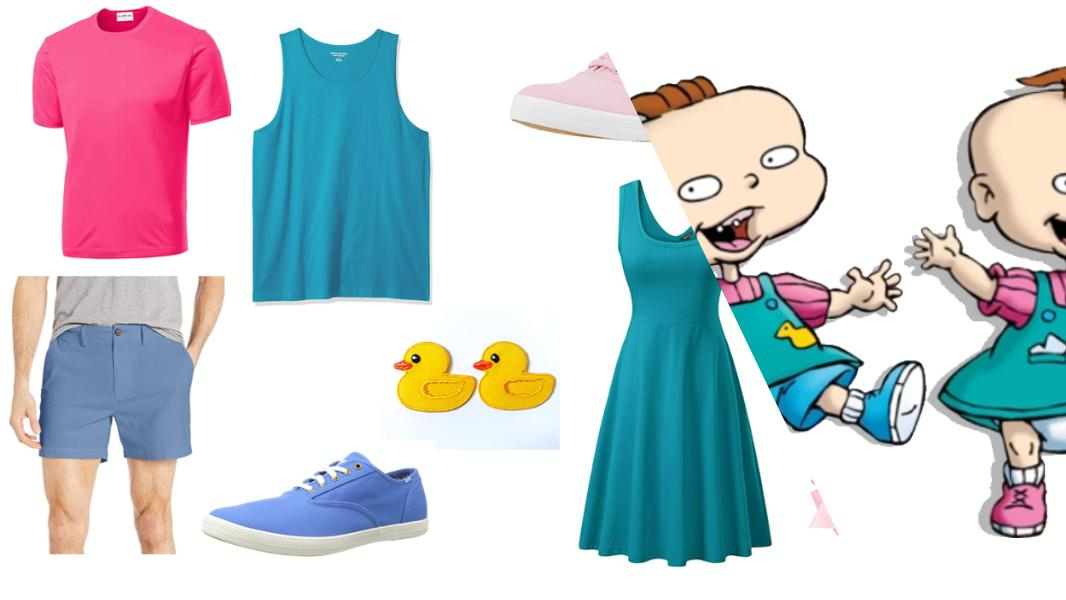 Phil and Lil DeVille from Rugrats Cosplay Tutorial