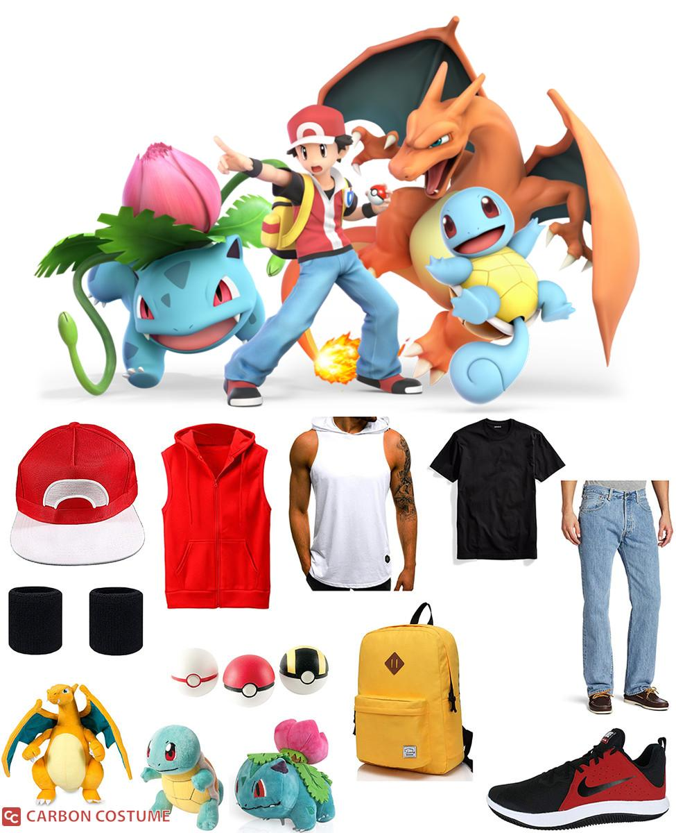 Pokémon Trainer from Super Smash Bros. Ultimate Cosplay Guide