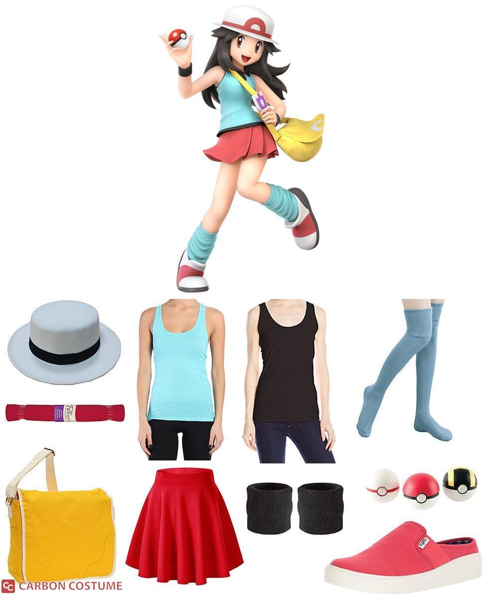 Pokémon Trainer (Leaf Variant) from Super Smash Bros. Ultimate Cosplay Guide