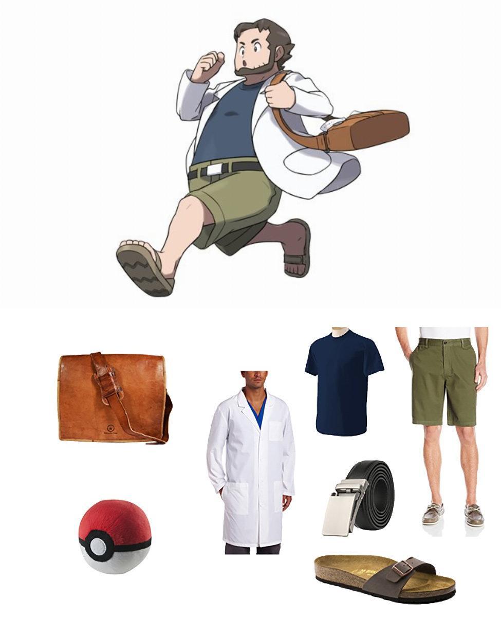 Professor Birch in Pokémon Cosplay Guide