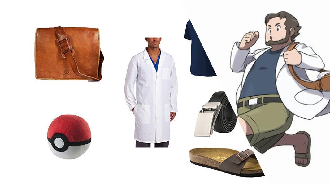 Professor Birch in Pokémon Cosplay Tutorial