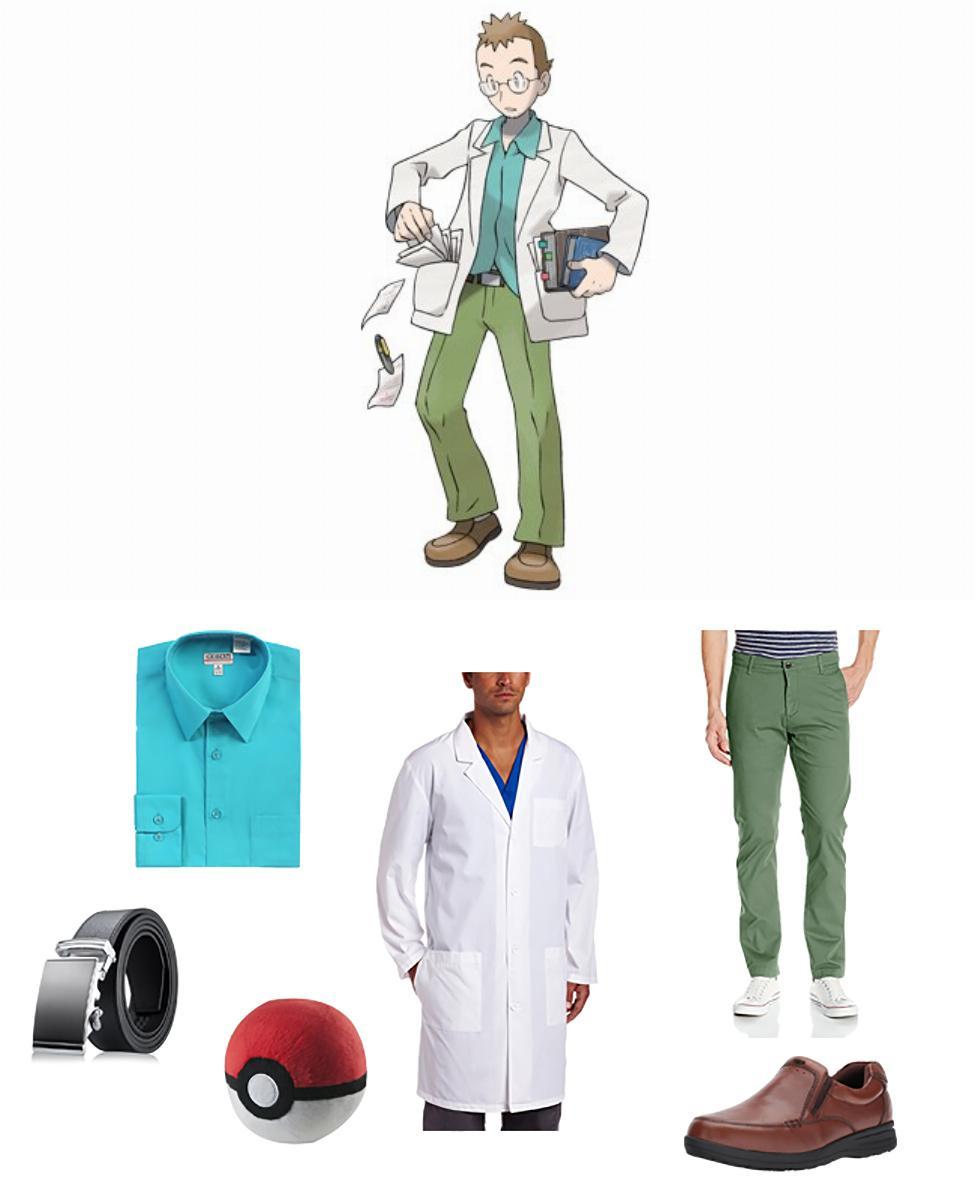 Professor Elm in Pokémon Cosplay Guide