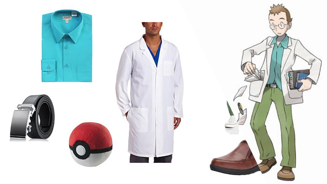 Professor Elm in Pokémon Cosplay Tutorial