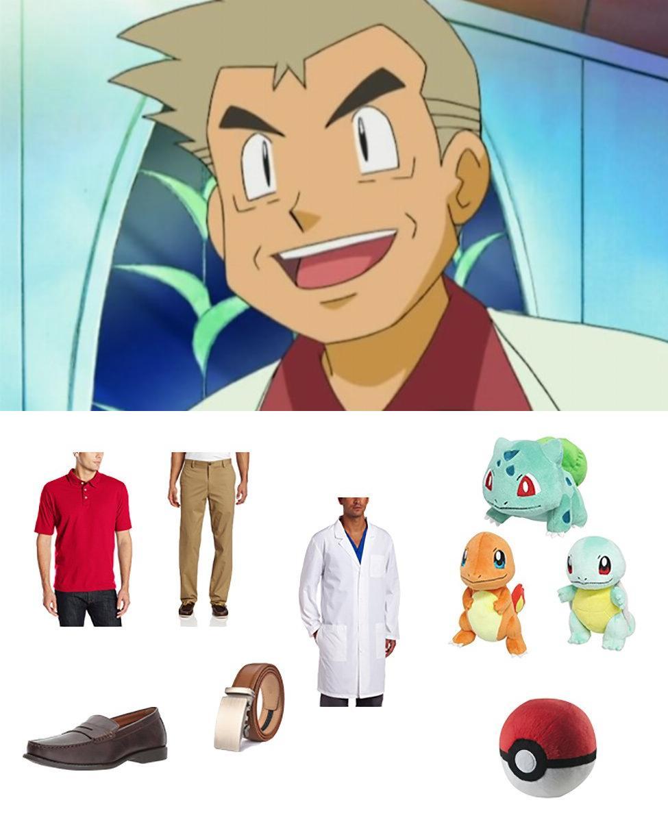 Professor Oak in Pokémon Cosplay Guide