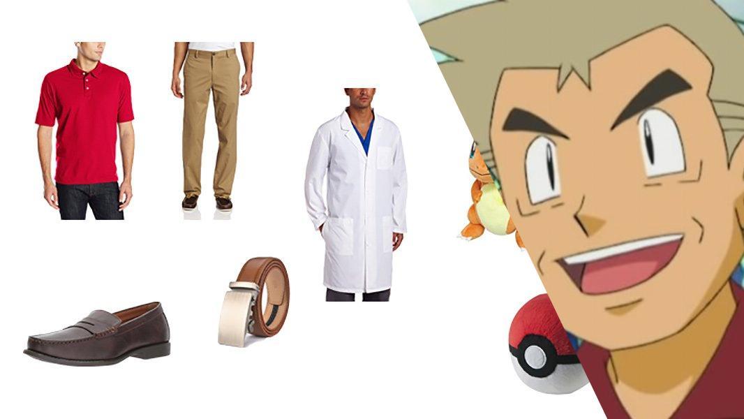 Professor Oak in Pokémon Cosplay Tutorial