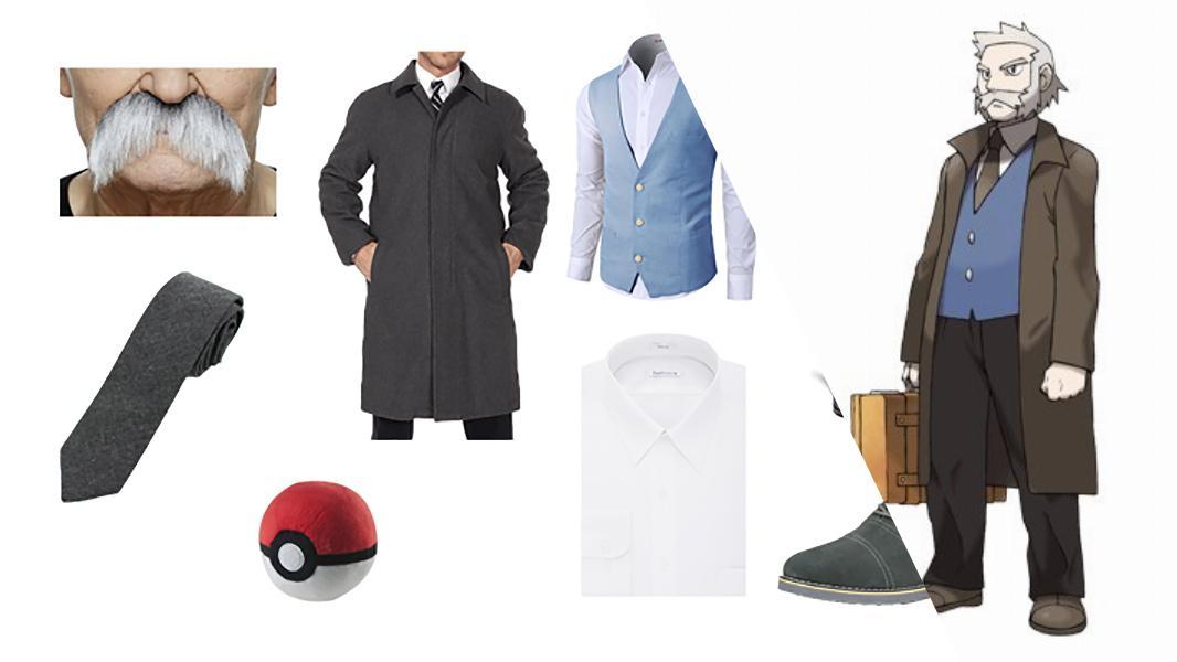 Professor Rowan in Pokémon Cosplay Tutorial