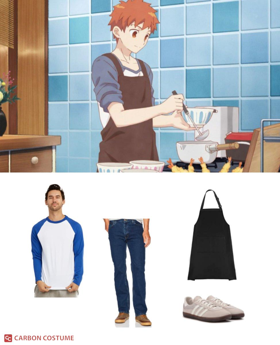 Shirou from Today's Menu for the Emiya Family Cosplay Guide